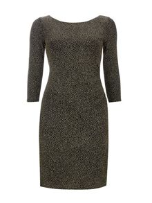 Wallis Sparkle Long Sleeve Dress