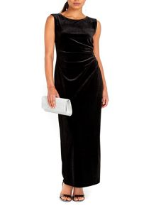 Wallis Velvet Maxi Dress