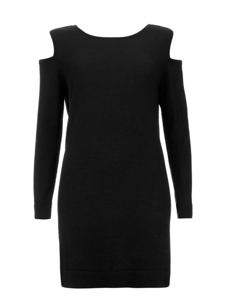 Wallis Cut Out Shoulder Dress