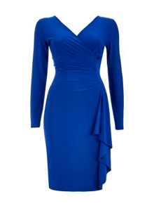 Wallis Ruffle Wrap Dress