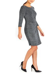 Wallis Petite Sparkle Tuckside Dress