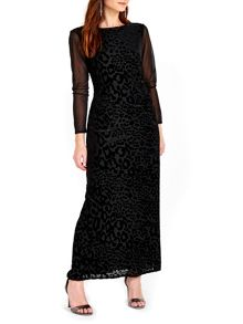 Wallis Animal Maxi Dress