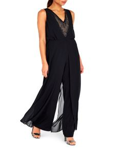 Wallis Black Hotfix Jumpsuit