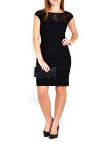 Wallis Petite Black Shutter Dress