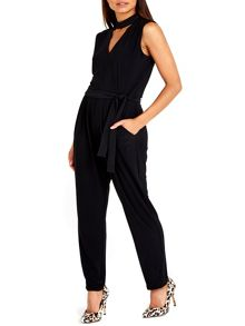 Wallis Collar Detail Jumpsuit