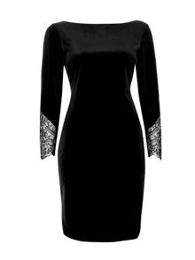 Wallis Velvet Dress
