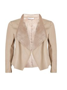 Wallis Petite Stone Waterfall Jacket