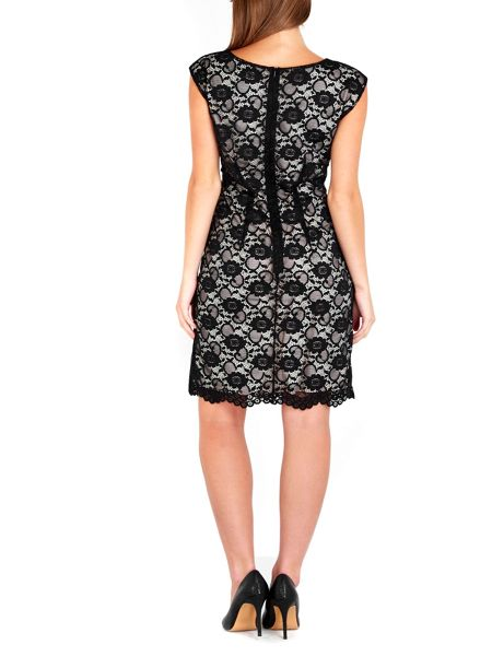 Wallis Petite Black Lace Dress