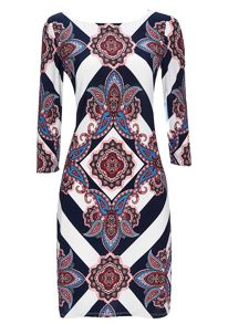 Wallis Stripe Paisley Tunic
