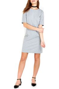 Wallis Petite Grey Shift Dress