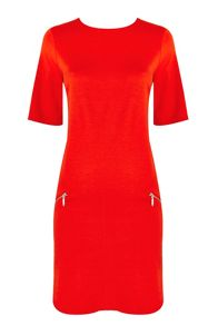 Wallis Petite Orange Shift Dress