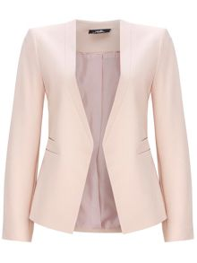 Wallis Pale Pink Fitted Blazer