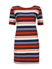Wallis Stripe Shift Dress