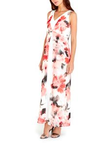 Wallis Ivory Floral Maxi Dress