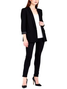 Wallis Black Stylish Boyfriend Blazer