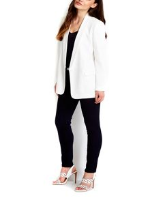 Wallis Cream Stylish Boyfriend Blazer