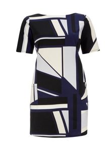 Wallis Colour Block Ponte Dress
