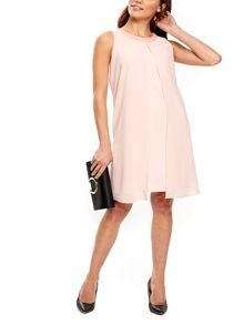 Wallis Petite Blush Embellished Dress