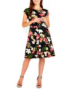 Wallis Pretty Garden Fit and Flare Dress