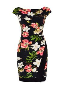Wallis Pretty Garden Wrap Dress