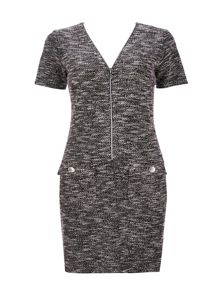 Wallis Petite Monochrome Knit Dress
