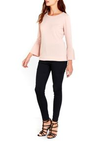 Wallis Blush Flare Sleeve jumper