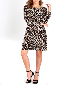 Wallis Leopard Swing Dress