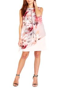 Wallis Floral Tiered Overlayer Dress