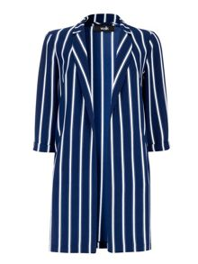 Wallis Striped Duster Jacket