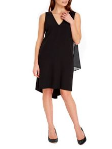 Wallis Black Embellished Bar Dress