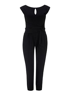 Black Fitted Jumpsuit