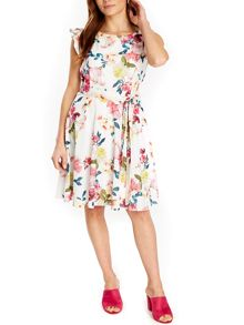 Wallis Summer Floral Fit And Flare