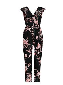 Wallis Fern Floral Jumpsuit