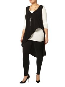 Evans Live Unlimited Asymmetric Zip Top