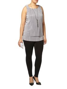 Evans Live Unlimited Pleat Top