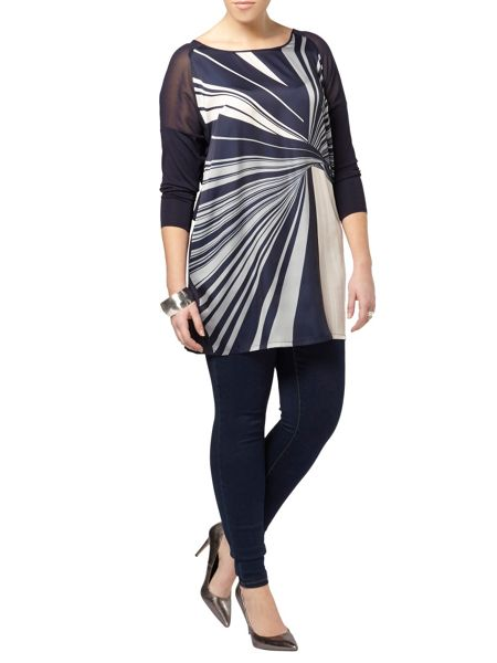 Evans Live Unlimited Printed Tunic
