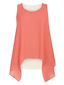 Coral Double Layer Top