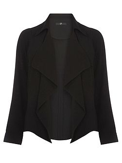 Black Short Trench Jacket