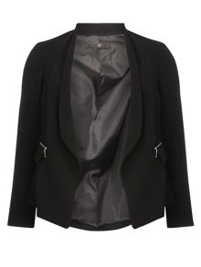 Evans Black Hourglass Fit Jacket