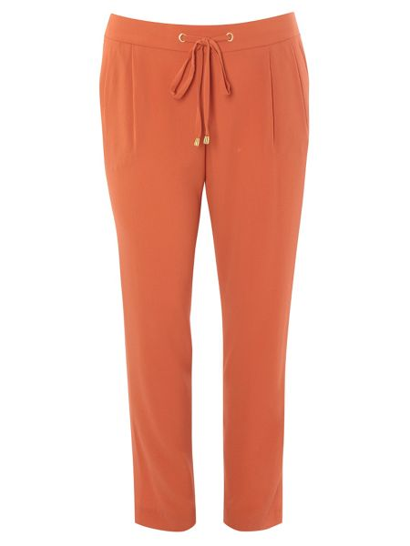 Evans Tie Tapered Trousers