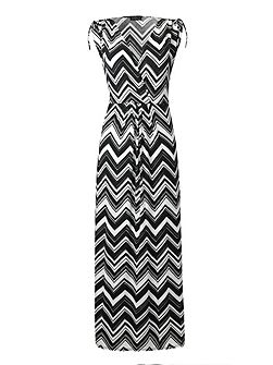 Made In Britain Print Maxi Dress