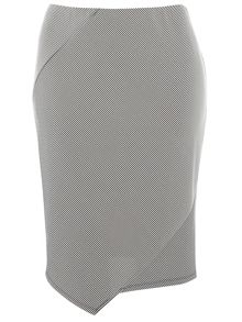 Evans Hourglass Stripe Tube Skirt