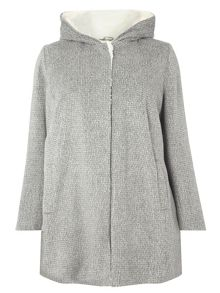 Evans Hooded Coat
