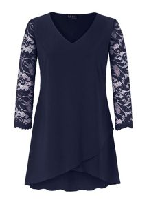 Grace Grace Made In Britain Tulip Hem Tunic