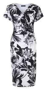 Grace Grace Made In Britain Floral Dress