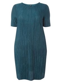 Evans Green pleated Tunic