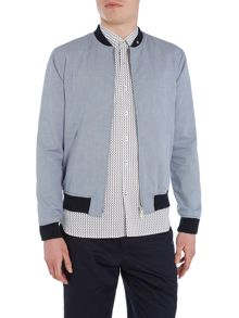 Peter Werth Rogers Kinsman Zip Through Bomber Jacket