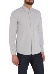 Peter Werth Mannerist Pin Stripe Cotton Shirt