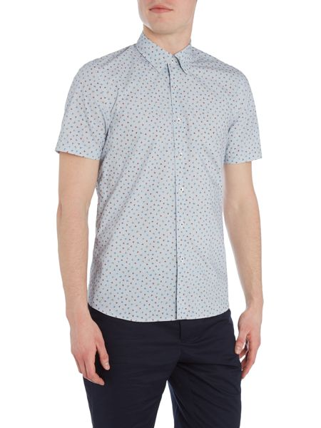 Peter Werth Parade Butterfly & Grid Check Shirt