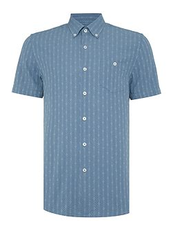 Bowery Dot Stripe Shirt